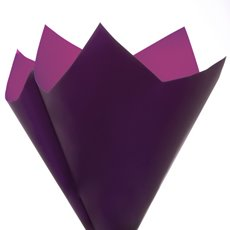 Regal Pearl Wrap Duo - Cello Regal Star Large 60 mic PurpleViolet 50 Pack (80x80cm)