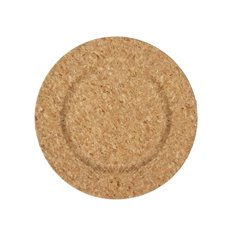 Candle Plates & Mirrors - Charger Plate Round (33cmD) Natural