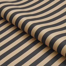 Counter Rolls - Counter Roll Bold Stripe Kraft Black (50cmx50m)