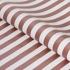 Counter Rolls - Counter Roll Bold Stripe Gloss Rose Gold White (50cmx50m)