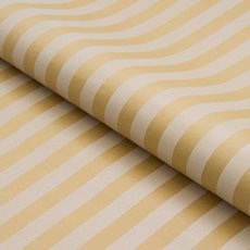 Counter Roll Stripe White on Brown Kraft (50cmx50m)
