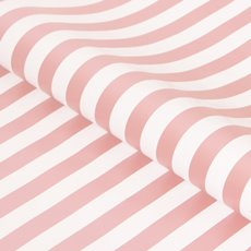 Counter Rolls - Counter Roll Bold Stripe Gloss Baby Pink White (50cmx50m)
