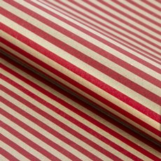 Counter Rolls - Counter Roll Thin Stripe Kraft Red (50cmx50m)