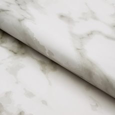 Counter Rolls - Counter Roll Marble Black on Gloss White (50cmx50m)