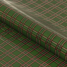 Counter Rolls - Counter Roll Gloss Tartan Green (50cmx50m)