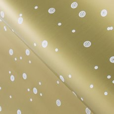 Counter Rolls - Counter Roll Gloss Dot Flake Gold (50cmx50m)