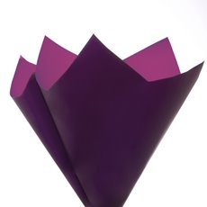 Regal Pearl Wrap Duo - Cello Regal Star Small 60 mic PurpleViolet 50 Pack (67x67cm)