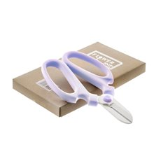 Flower Snip Light Purple Handle (17cm-6.7)