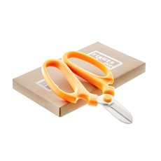 Scissors Shears Floral Cutters - Flower Snips Gift Box Orange (17cm-6.7)
