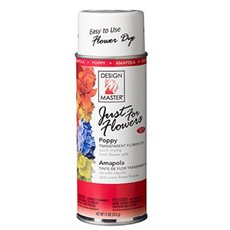 Translucent Flower Dye - Design Master Spray Just For Flowers Poppy (312g)