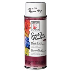 Translucent Flower Dye - Design Master Spray Just For Flowers Black Cherry (312g)