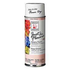 Translucent Flower Dye - Design Master Spray Just For Flowers Osiana Peach (312g)