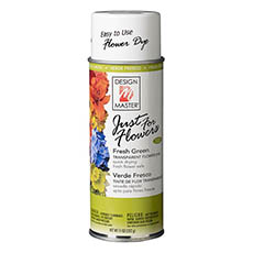 Translucent Flower Dye - Design Master Spray Just For Flowers Fresh Green (312g)