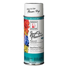 Translucent Flower Dye - Design Master Spray Just For Flowers Peacock (312g)
