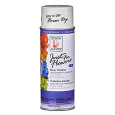Flower Spray Paint - Design Master Spray Just For Flowers Blue Violets (312g)