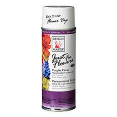 Translucent Flower Dye - Design Master Spray Just For Flowers Purple Pansy (312g)