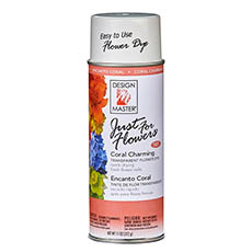 Flower Spray Paint - Design Master Spray Just For Flowers Coral Charming (312g)