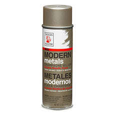 Metallic Spray Paint - Design Master Spray Modern Metals Champagne Silver (156g)