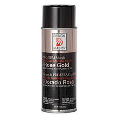 Metallic Spray Paint - Design Master Spray Premium Metals Rose Gold (312g)