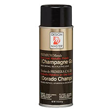 Metallic Spray Paint - Design Master Spray Premium Metals Champagne Gold (312g)