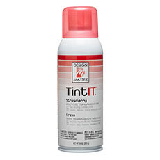 Tint Spray Paint - Design Master Spray Paint TintIT Strawberry (283g)