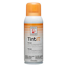 Tint Spray Paint - Design Master Spray Paint TintIT Mango (283g)