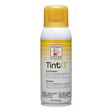 Tint Spray Paint - Design Master Spray Paint TintIT Sunflower (283g)