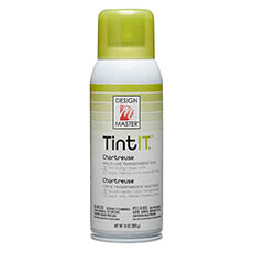 Tint Spray Paint - Design Master Spray Paint TintIT Chartreuse (283g)