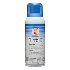 Tint Spray Paint - Design Master Spray Paint TintIT Sapphire (283g)