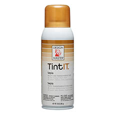 Tint Spray Paint - Design Master Spray Paint TintIT Sepia (283g)