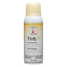 Tint Spray Paint - Design Master Spray Paint TintIT Gold Shimmer (283g)