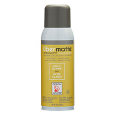 Matte Spray Paint - Design Master Spray Paint Übermatte Light Ochre (283g)