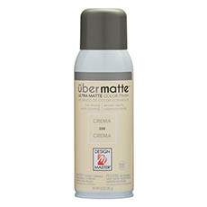 Matte Spray Paint - Design Master Spray Paint Übermatte Crema (283g)