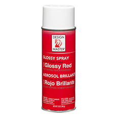 Glossies - Design Master Spray Paint Colortools Glossy Red (340g)