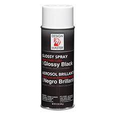 Design Master Spray Glossy Black