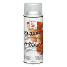 Clear Spray Paint - Design Master Pottery Sealer (312g)
