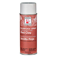 Colortool Floral Spray Paint - Design Master Spray Paint Colortools Red Earthen Clay (340g)