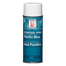 Colortool Floral Spray Paint - Design Master Spray Paint Colortools Pacific Blue (340g)
