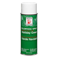Colortool Floral Spray Paint - Design Master Spray Paint Colortools Holiday Green (340g)