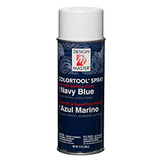 Design Master Spray Navy Blue