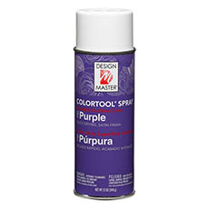 Colortool Floral Spray Paint - Design Master Spray Paint Colortools Purple (340g)
