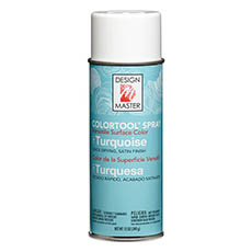 Colortool Floral Spray Paint - Design Master Spray Paint Colortools Turquoise (340g)