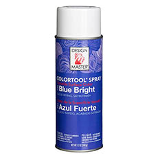 Colortool Floral Spray Paint - Design Master Spray Paint Colortools Blue Bright (340g)