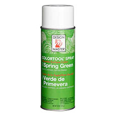 Colortool Floral Spray Paint - Design Master Spray Paint Colortools Spring Green (340g)