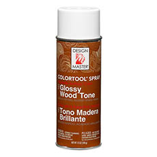 Design Master Spray Glossy Wood Tone