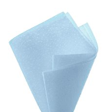 Embossed Nonwoven Wrap 50pk 80gsm (50x70cm) Baby Blue