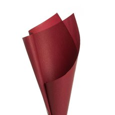 Embossed Paper 50 Sheets Red (50x70cm)