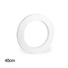 Polystyrene Wreath Round 16 (40Dx5cm)