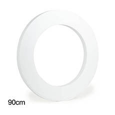 Polystyrene Wreath Round 36 (92Dx5cm)
