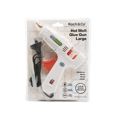 Floral Cold and Hot Glue - Hot Melt Glue Gun Large